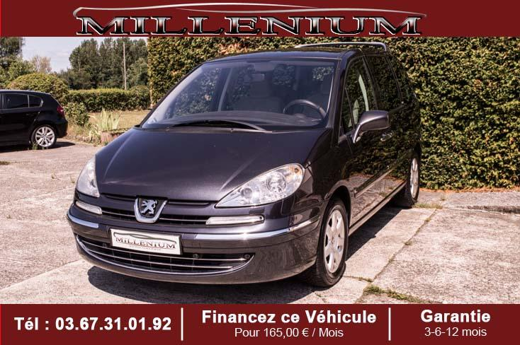 photo PEUGEOT 807 2.0 HDi 16V 136ch Navteq on board 7 PLACES