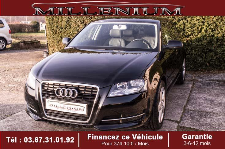 photo AUDI A3 1.6 TDI 105  SPORTBACK luxe