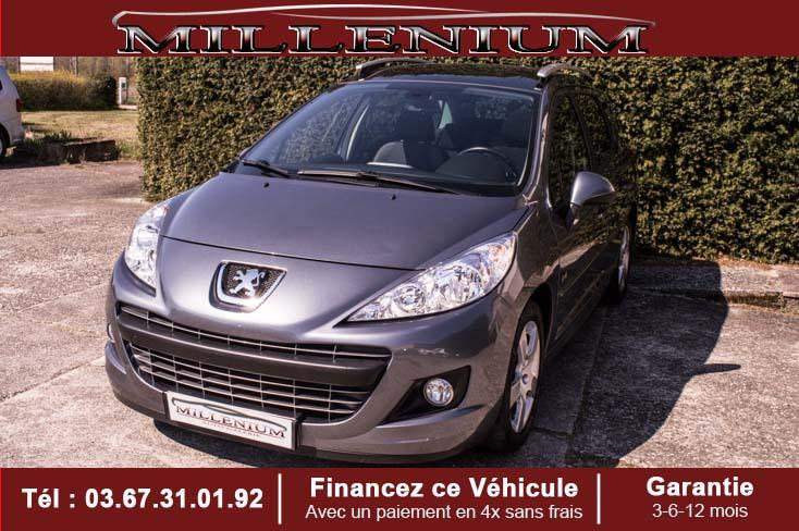 photo PEUGEOT 207 SW 1.6 e.HDI 92 BLUE LION ACTIVE