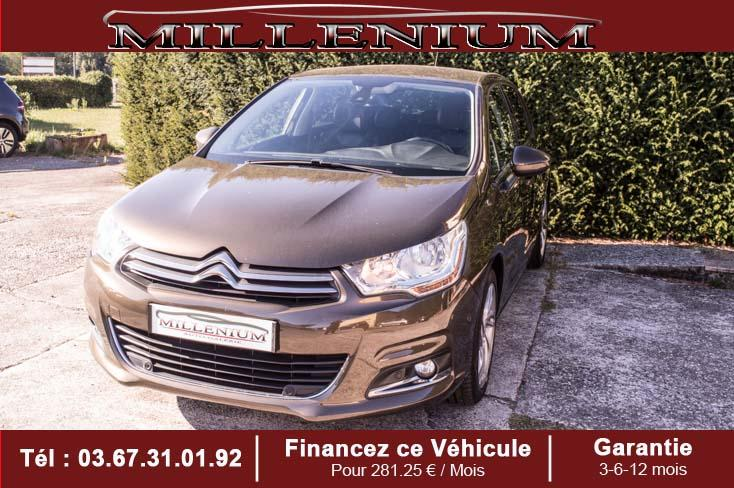 photo CITROËN C4 VTi 120 Exclusive